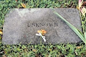Unknown Grave Marker